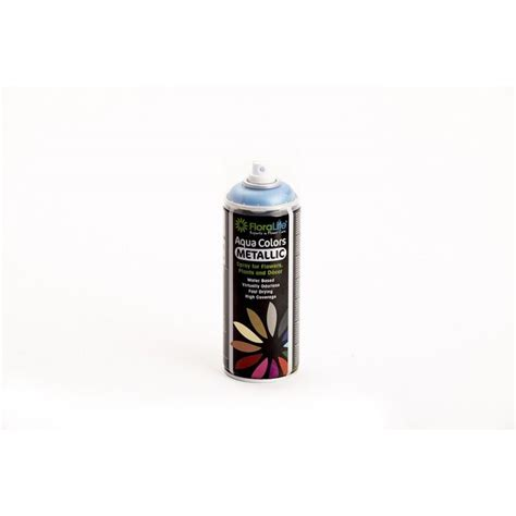 400ml oasis water based floralife 174 aqua metallic color spray paint ebay