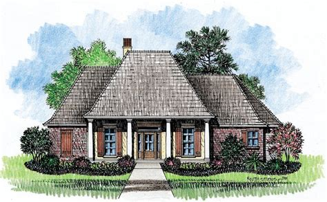 louisiana house plans acadian house plans