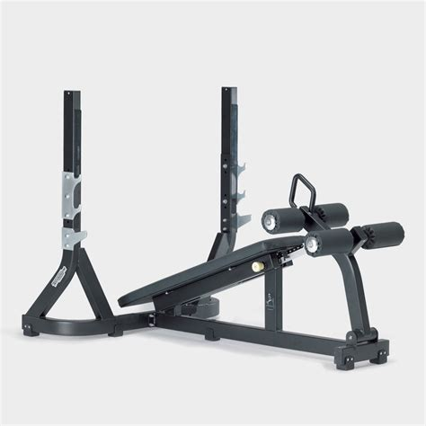 benching machine pure strength olympic decline weight bench