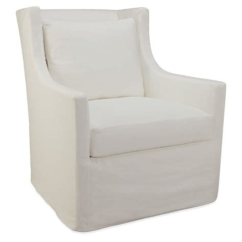 slipcover glider kacey slipcover swivel glider luxe home company
