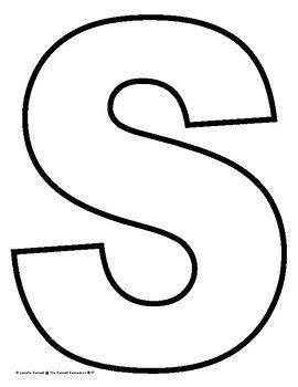 capital letter outlines letter crafts letter