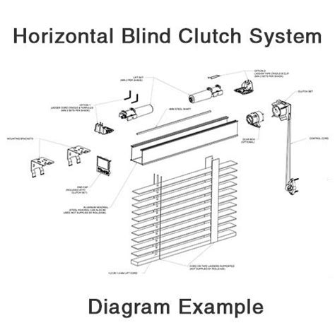 L Shade Parts Diagram by 46 Best Images About Blind Repair Diagrams Visuals On