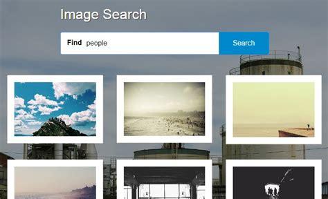 Photo Lookup App Angular Image Search App Based On Splashbase Co Api Angular Script