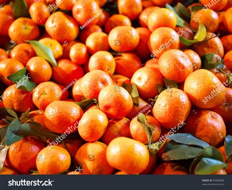 new year gift oranges many oranges orange auspicious fruit stock photo
