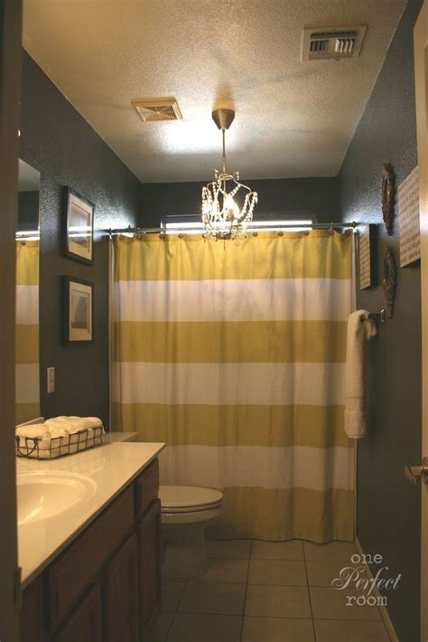 yellow gray bathroom gray white and yellow bathroom remodel projects pinterest