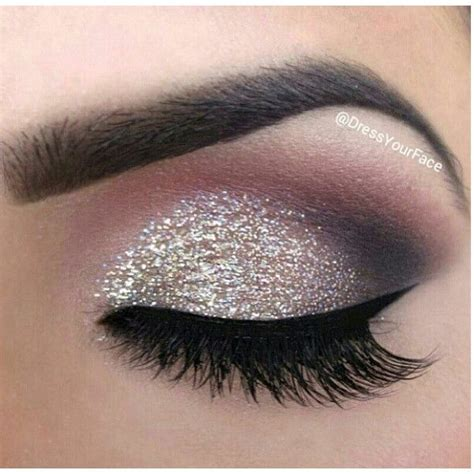 tutorial eyeliner silver 17 mejores ideas sobre glitter eyeshadow tutorial en