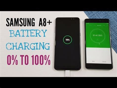 0 samsung test samsung galaxy a8 2018 battery charging test 0 to 100