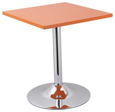Orange Side Table Butler Square End Table Orange Set Of 2 Modern Side Tables And End Tables By Inmod