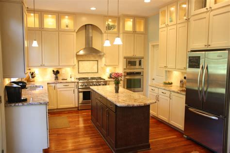 stacked kitchen cabinets double stacked cabinetry eclectic kitchen atlanta