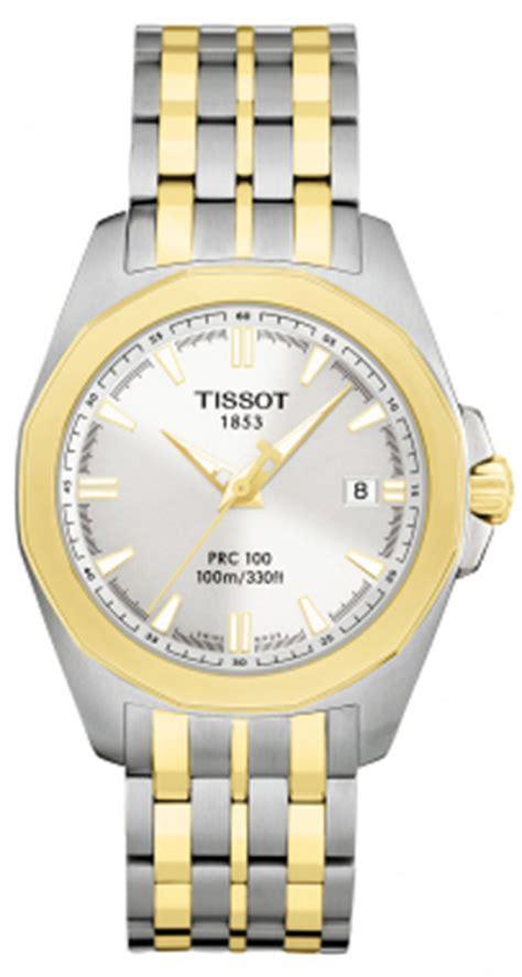Tissot Prc 27 00 Silver t22258131 tissot prc 100 quartz mens gold steel