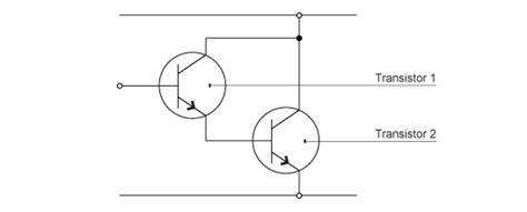 transistor darlington pair tutorial gcse bitesize transistors