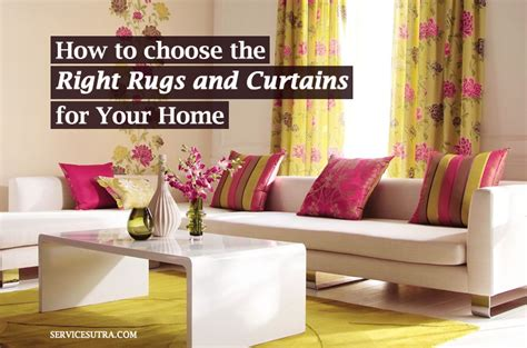 how to pick curtains for living room how to choose the right rugs and curtains for your home