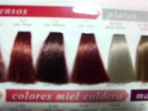 tutorial carta de colores para el cabello youtube carta de colores exitenn youtube