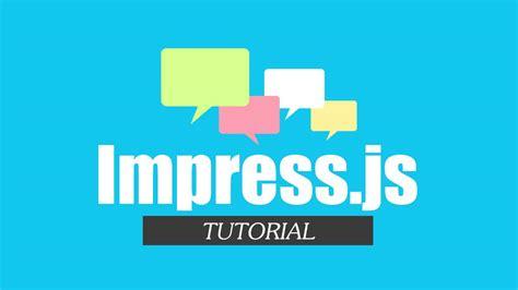Make Online Presentation With Impress Js Red Stapler Impress Js