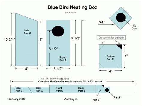 bat boxes plans free woodworking projects plans