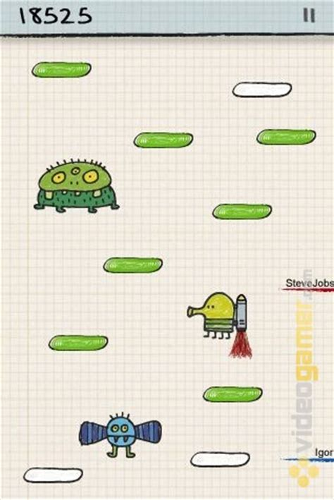 how to make like doodle jump doodle jump screenshot 2 for iphone videogamer