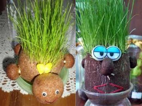 Boneka Horta Pelihara Tumbuh Rumput Asli mashudi wdiantoro peluang bisnis boneka rumput hidup horta