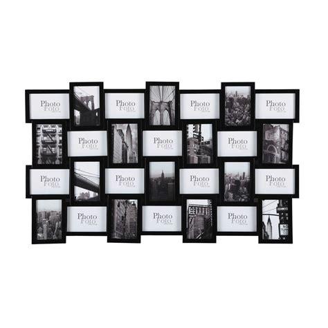 cornice x foto cornice foto nera in legno 59 x 100 cm decalage maisons