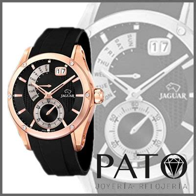 Jaguar Swiss Made J681 Black Rubber Black Spesial Edition Original jaguar registered model special edition j679 1