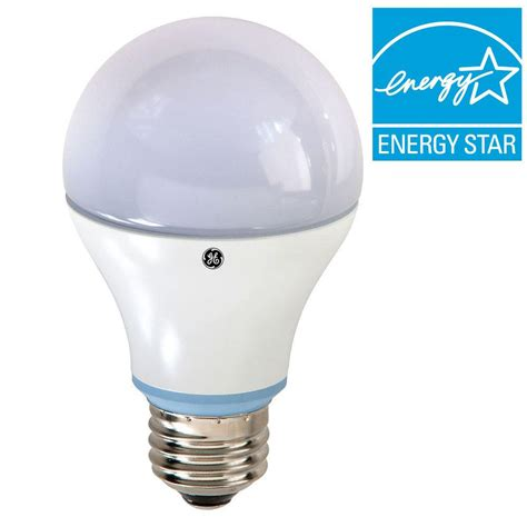 Ge Reveal Led Light Bulbs Ge Reveal 60w Equivalent Reveal A19 Dimmable Led Light Bulb Led10da19rvlestp The Home Depot