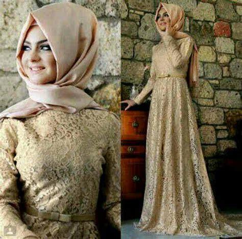 Baju Wanita Muslim Longdress Lotus Fit To baju muslim brukat cantik modern model terbaru murah