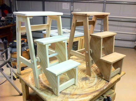 build a folding step stool pdf diy woodworking plans folding step stool