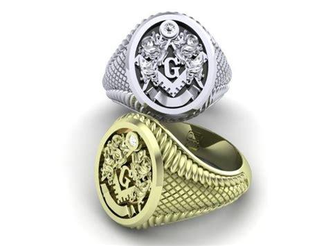 buy  handmade masonic mens freemason signet ring