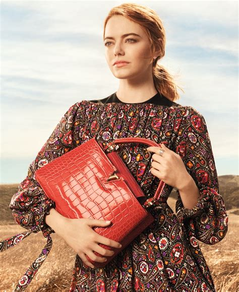 emma stone louis vuitton emma stone louis vuitton spirit of travel ad caign