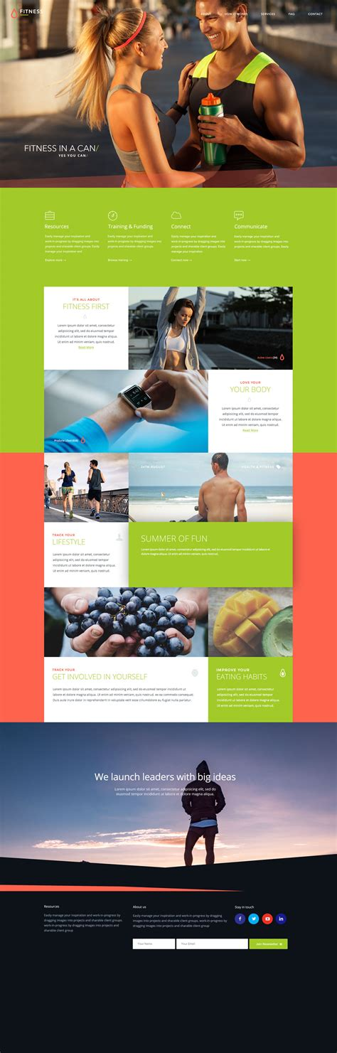 bootstrap templates for gym fitness website free bootstrap template free html5 templates