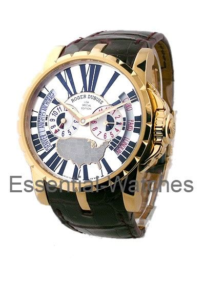 Roger Dubuis Excalibur World Time Silver ex45 1448 usa roger dubuis excalibur 45mm gold essential watches