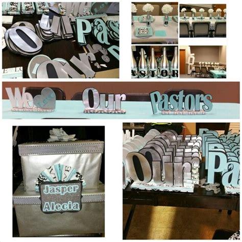 Decorating Ideas For Pastor Appreciation Pastor S Appreciation Centerpieces We Our Pastors