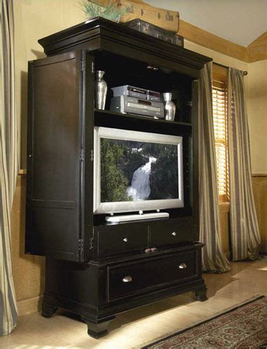 armoire television repurpose a tv armoire potentially beautiful