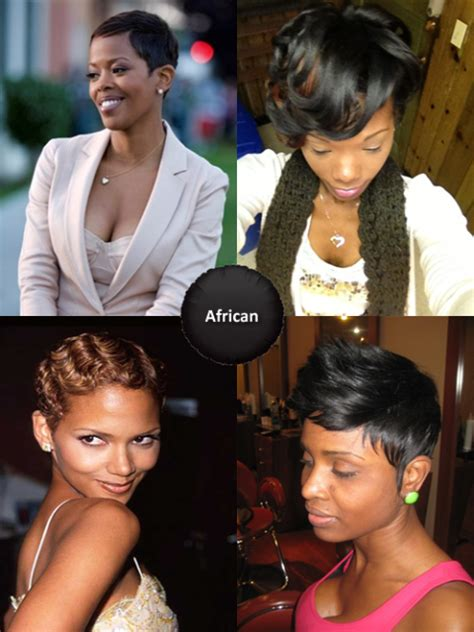 african american women hairstyle thats shaved on both side african american short hairstyles best african american