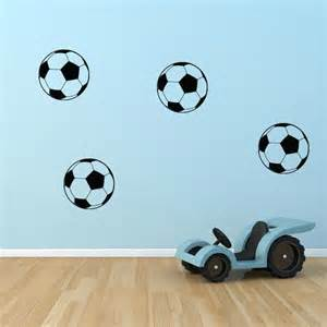 Soccer Wall Stickers Soccer Ball Decals Set Of 8 Wall Decal World