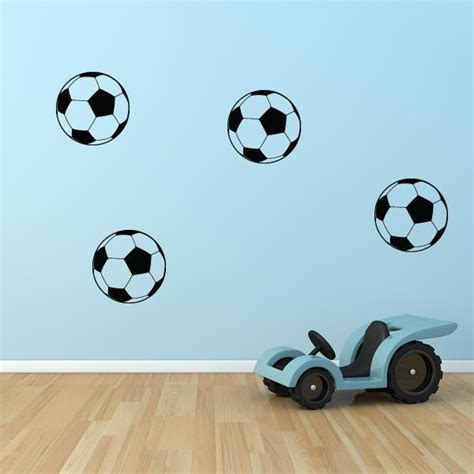 soccer wall sticker soccer decals set of 8 wall decal world