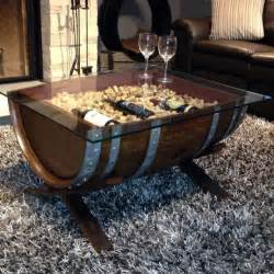 barrel coffee tables creative ideas to make coffee tables from barrels