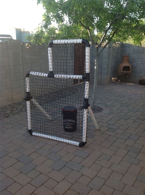 diy pit cing diy pitching screen reversible for right or left handed pitching bigal baseball design specs