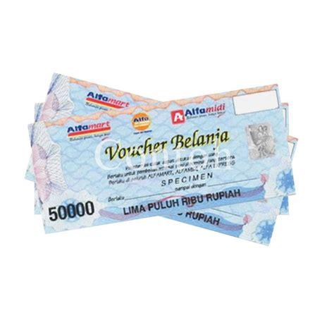 Voucher Fisik Orangetv 100 000 jual voucher center alfamart voucher fisik rp 100 000