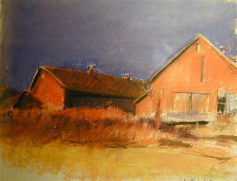 Barns In Maine Artists In Pastel Wolf Kahn