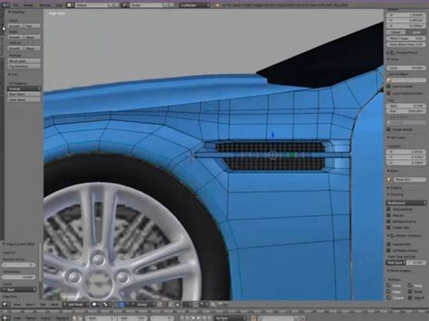 tutorial blender modeling car aston martin blender 3d modeling tutorial car body design