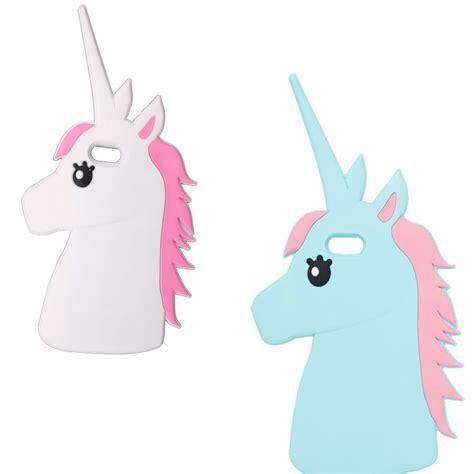Fruity Iphone 6 6s 6 6s 7 7 Hardcase Bening animal unicorn silicone 3d for iphone 4 5