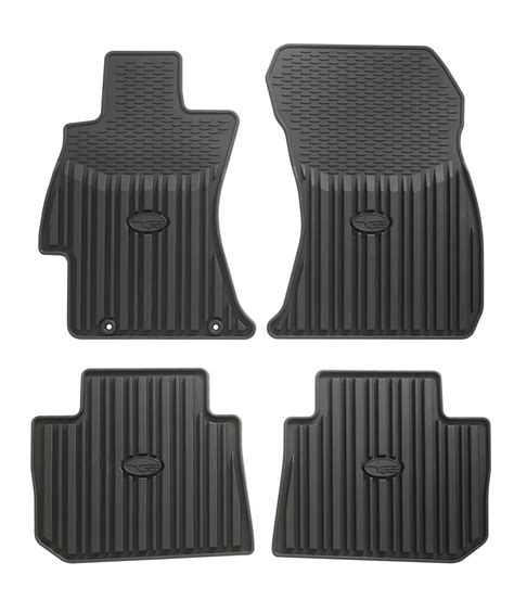 subaru liberty floor mats j501sva200 2016 subaru all weather mats all weather