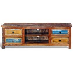 vidaxl co uk reclaimed wood tv cabinet tv stand 4 drawers