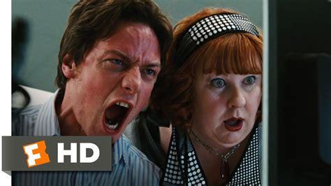 james mcavoy chris pratt movie wanted 5 11 movie clip wesley s breakdown 2008 hd