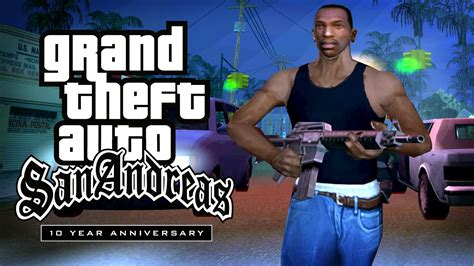 grand theft auto apk gta san andreas 10th anniversary tribute trailer