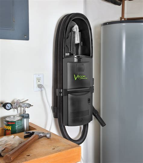 Garage Vacuum by H P Products Vroom 174 Garage Vac Conveniently Tackles Car