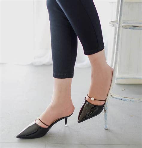 Sepatu Wanita Heels Kerja Pesta jual sepatu sandal selop kerja pesta wanita korea import high heels shoes amelie butik