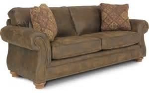 laramie brown sized sleeper sofa rustic sofas