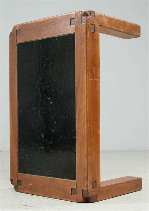 lava stone table top pierre chapo t18 side table with lava stone top for sale