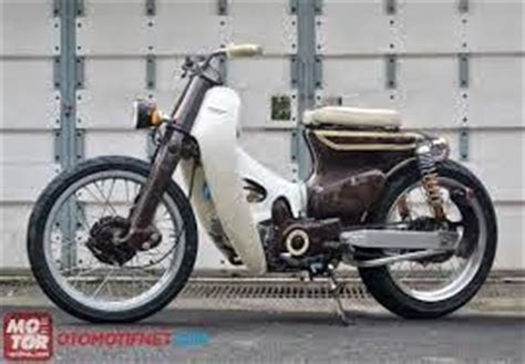 Modifikasi Honda Kalong by Modifikasi Honda C70 Classic Japstyle Terbaru Myotomotif